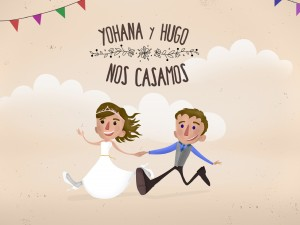 Ilustracion boda