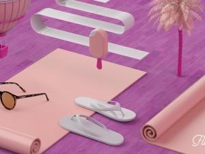 Flamingo 3d producto