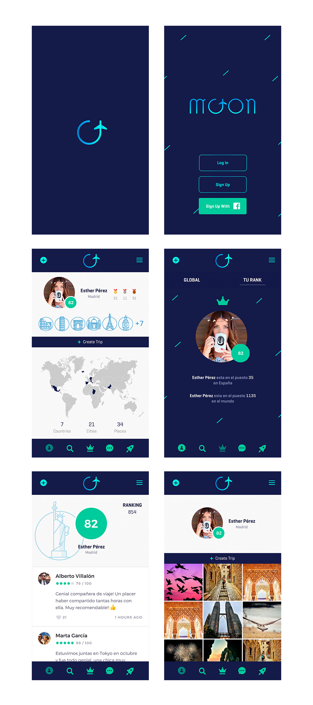 Moon-App-Screens 2